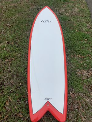 New 6'4 Epoxy Fish Surfboard! for Sale in Virginia Beach, VA