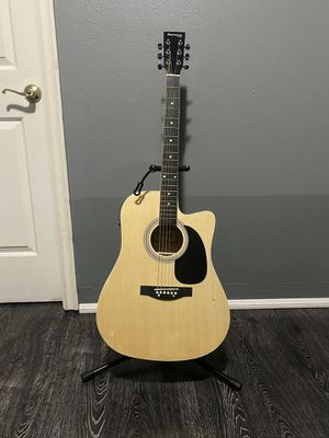 natural huntington electric acoustic guitar for Sale in South Gate, CA