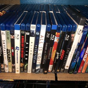 BLU-RAY titles —List #1 & #2 — $4 each for Sale in Lakewood, CA
