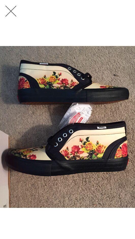 Supreme x Vans x Jean Paul Gaultier chukka Peach color size 10 Deadstock