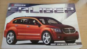 Dodge Caliber owner's manual, key fob, CVT dipstick for Sale in Kansas City, KS