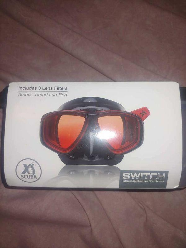 XS Scuba Switch dive mask