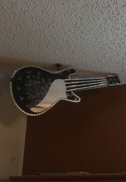 Decorative guitar for Sale in San Angelo,  TX