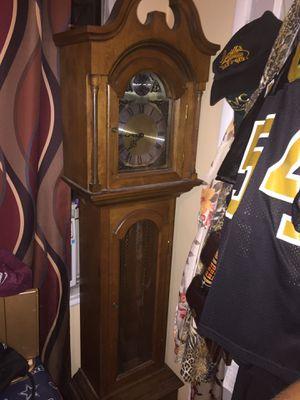 Antique Vintage 6.5 Foot Tempus Fugit Grandfather Clock for Sale in Santa Fe Springs, CA