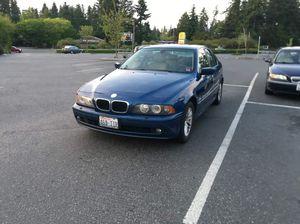 2001 BMW 530i NOT RUNNING for Sale in Seattle, WA