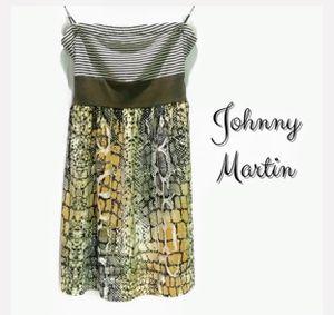 Johnny Martin Strapless dress for Sale in Houston, TX