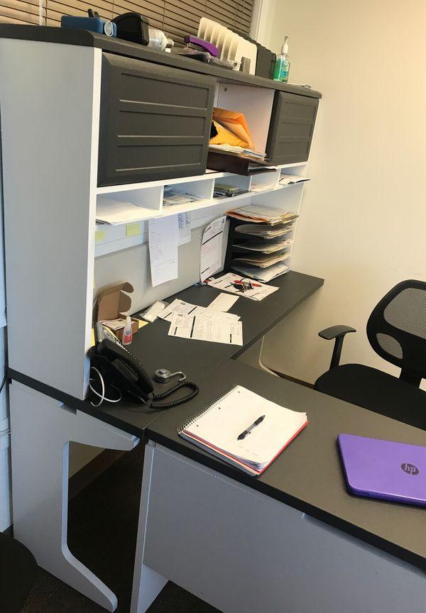 OFFICE SALE - Office L shaped desk