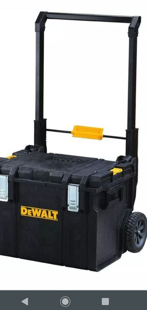 New$80 DEWALT Mobile Tool Storage Box ToughSystem DS450 22 In. 17 Gal. Portable Wheels for Sale in Miami, FL