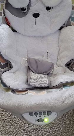 The Fisher-Price SnuggaPuppy Infant Vibrating Seat for Sale in Pennington,  NJ