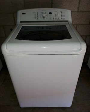 Kenmore elite oasis Kingsize capacity open view washer for Sale in Phoenix, AZ
