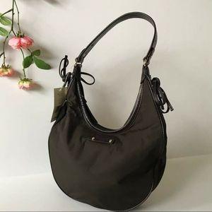 Kate spade brown nylon hobo shoulder bag for Sale in GRANT VLKRIA, FL
