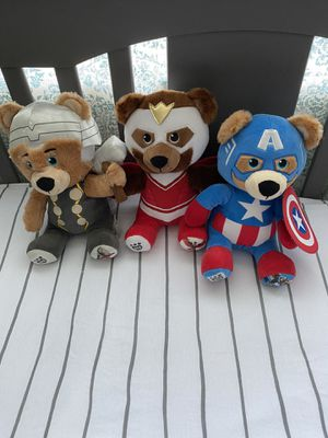 Avengers Build-A-Bear Stuffed Animals for Sale in Riverside, CA