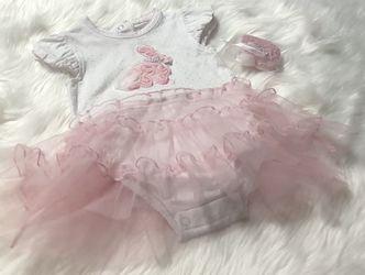 New! Gigil 1PC Bunny Dress w/ Headband *6 Months for Sale in Salem,  OR