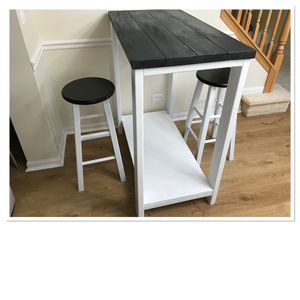 Rustic Bar Height Breakfast Table for Sale in Aurora, IL