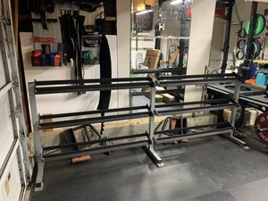 Commercial Grade Dumbbell weight set rack for Sale in San Diego, CA