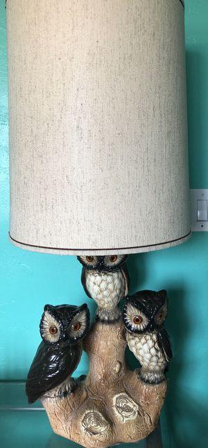 2 Vintage Mid Century Owl Lamps for Sale in Tempe, AZ