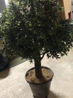 Faux topiary In Metal Pot for Sale in Halifax,  MA