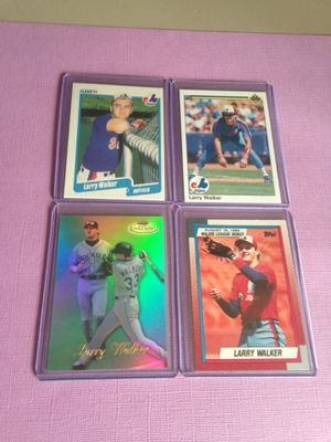 Larry Walker Baseball Cards for Sale in Tumwater, WA