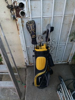 Golf bag and irons for Sale in San Bernardino, CA