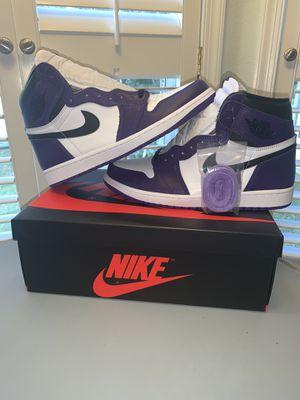Jordan 1 Court Purple for Sale in Ocala, FL