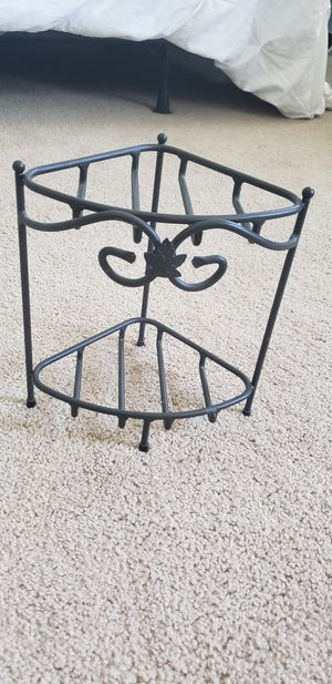 Longaberger Wrought Iron Small Corner Stand for Sale in Shingle Springs, CA