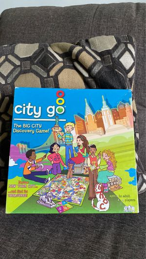 TLI Games - City Go - The Big City Discovery Game for Sale in Ithaca, NY