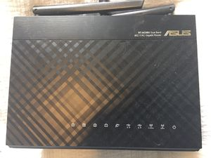 ASUS RT-AC68U AC1900 1300 Mbps 4 Port Gigabit Wireless WiFi AC Router for Sale in Seattle, WA
