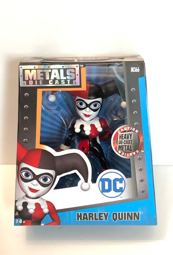 """DC Comics Harley Quinn 4"""" Die-Cast Metal Figure Jada Toys M366"""