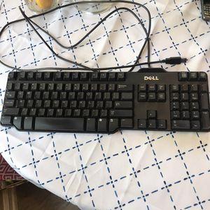 DELL computer black keyboard for Sale in Franklin, TN