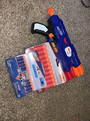 NERF gun with extra bullets for Sale in Brentwood, CA