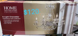 Canterbury park 6 light chandelier for Sale in Bakersfield, CA