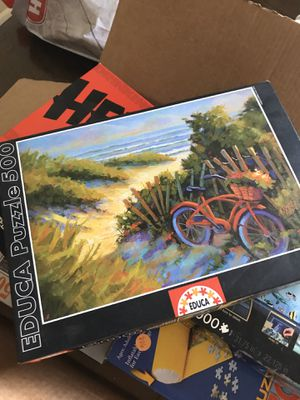 Puzzles and games package for Sale in San Marcos, TX