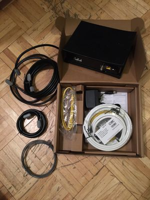 Modem, coax and ethernet cables for Sale in New York, NY