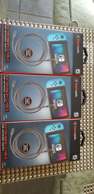 Nintendo switch extension cable for Sale in Saginaw, TX