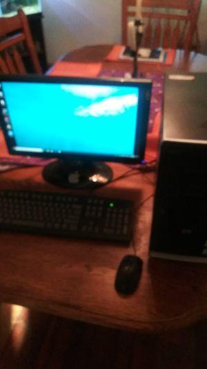 HP Pavilion desktop set for Sale in Visalia, CA