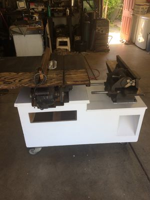 Table saw and jointer for Sale in Eugene, OR