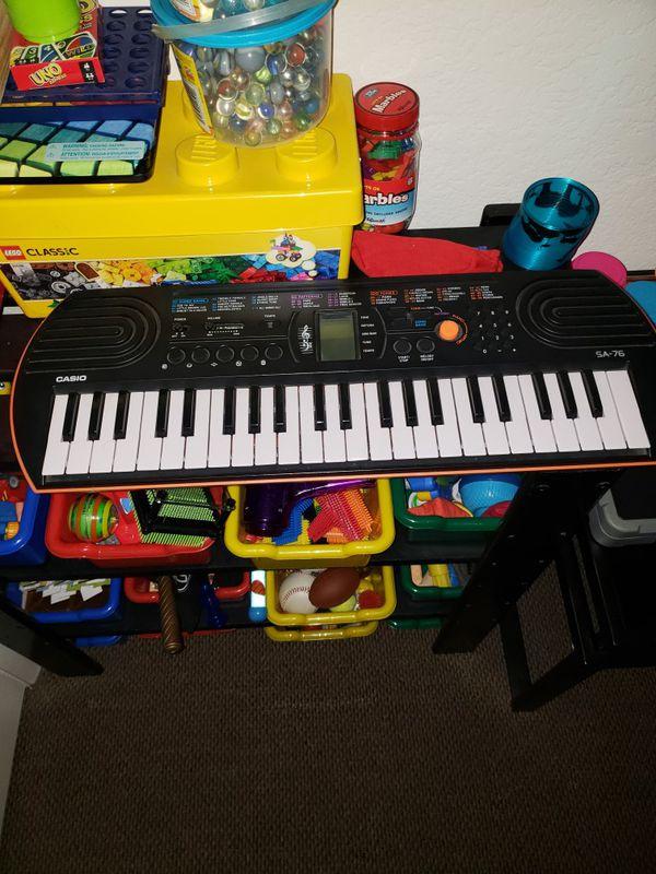 Casio SA76 50 Key Piano