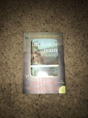 Orphan Train (used once by me for school) for Sale in West Point, MS