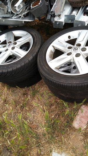 Bridgestone 4 tires 17 inch for Sale in South El Monte, CA