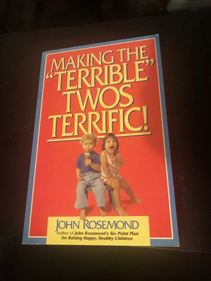 Making the terrible twos terrific for Sale in Long Beach, CA