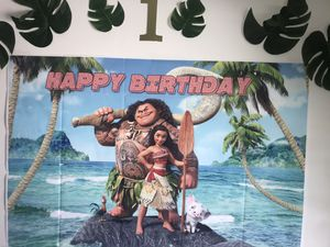 Moana decorations for Sale in Covina, CA