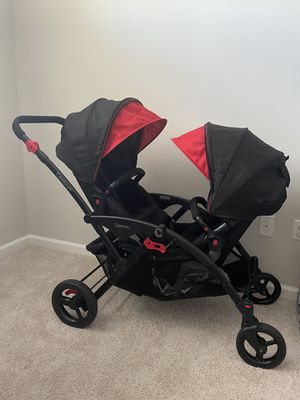 Double a Stroller with weather protector included for Sale in Clarksburg, MD