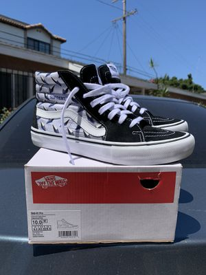 """2019 Supreme x Vans Skate High """"Diamond Plate"""" Size 10 for Sale in Long Beach, CA"""