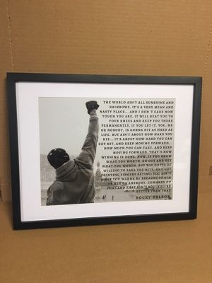 Rocky life quote for Sale in New York, NY