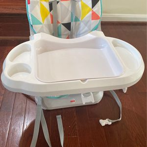 Fisher Price Multicolor High Chair for Sale in Alexandria, VA