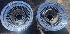 Pair Only 13x7 standards Bolt on small hubs 5 Lug for Sale in Phoenix, AZ