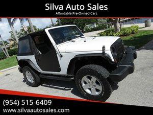 2008 Jeep Wrangler for Sale in Pompano Beach, FL