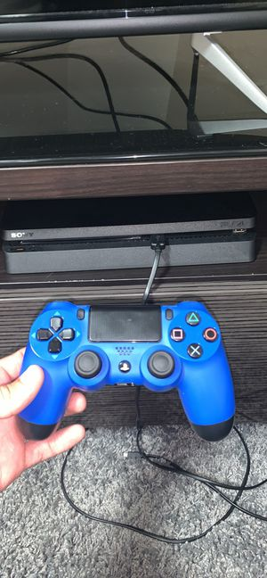PlayStation 4 + Games + External HD(Not Shipping) for Sale in Normal, IL