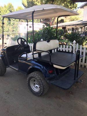 Long Travel EZGO golf cart gas powered for Sale in Silverado, CA