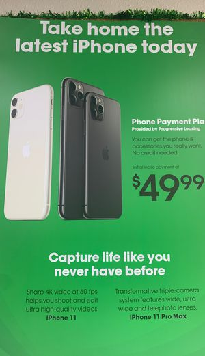 Phone payment plan options! for Sale in Victoria, TX